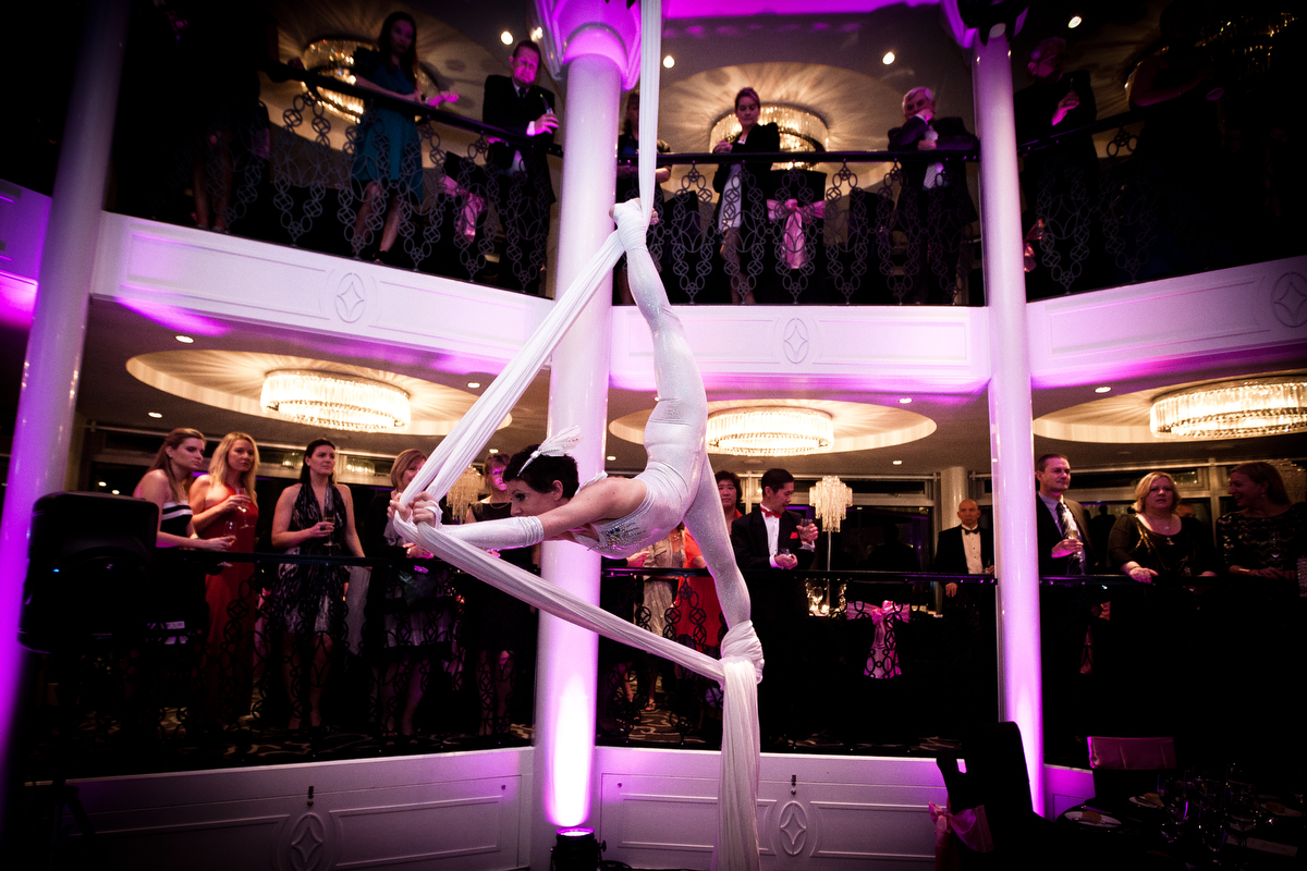 Aerial Artists and Adagio Dancers for corporate events and any event where you want a wow factor. www.talentonline.co.nz