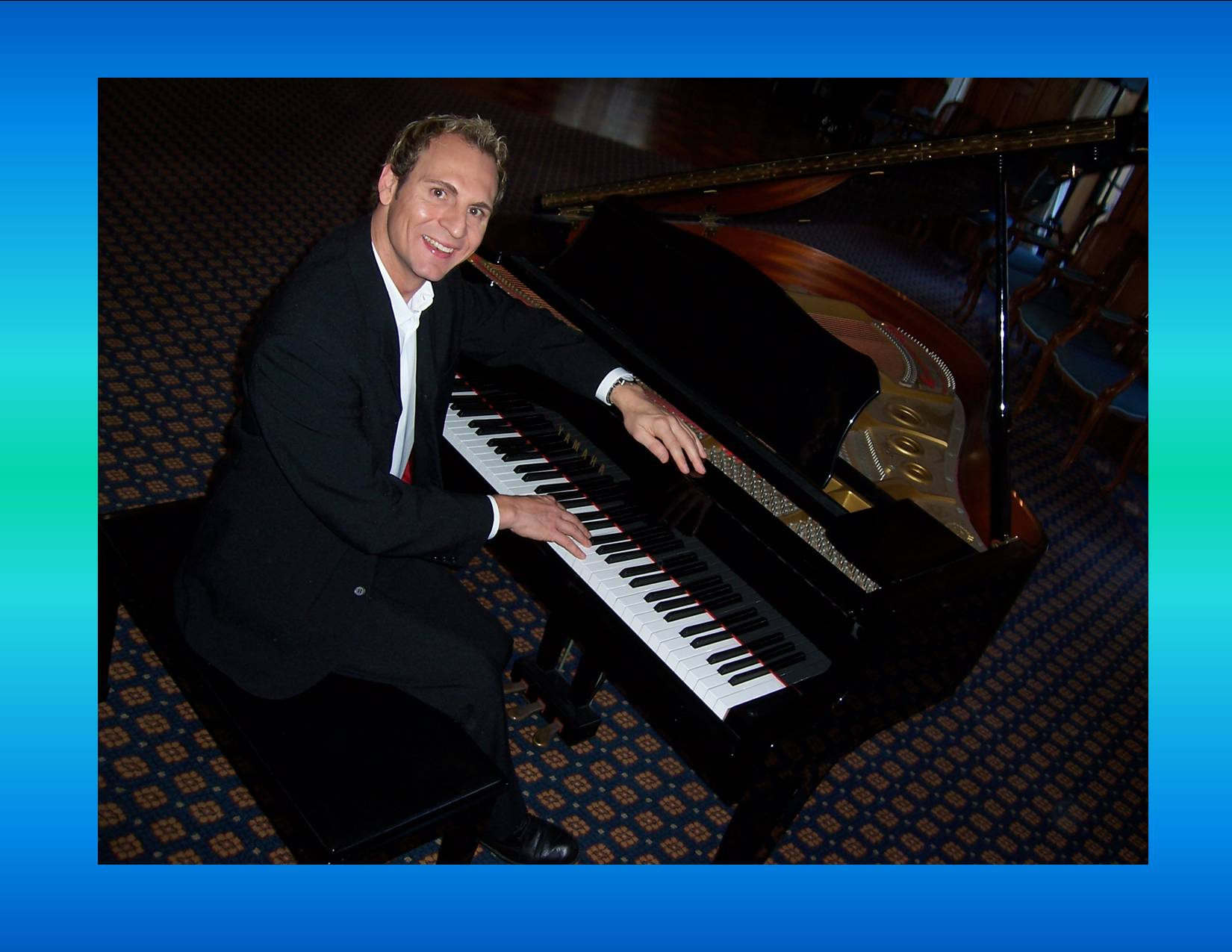 Rob Martin. Pianist and Vocalist. Based in South Canterbury, New Zealand. http://www.talentonline.co.nz/rob-martin-pianist-singer.html