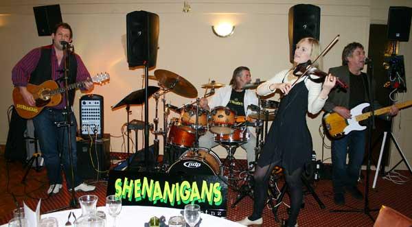 The Shenanigans, shenanagans, shananagans, shenanigans, irish rock music, irish folk music, celtic dance music. www.talentonline.co.nz/irish-celtic-bands/shenanigans-auckland/index.html