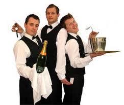 Flash Mob Waiters. Surprise entertainment for your unsuspecting guests. www.talentonline.com.au