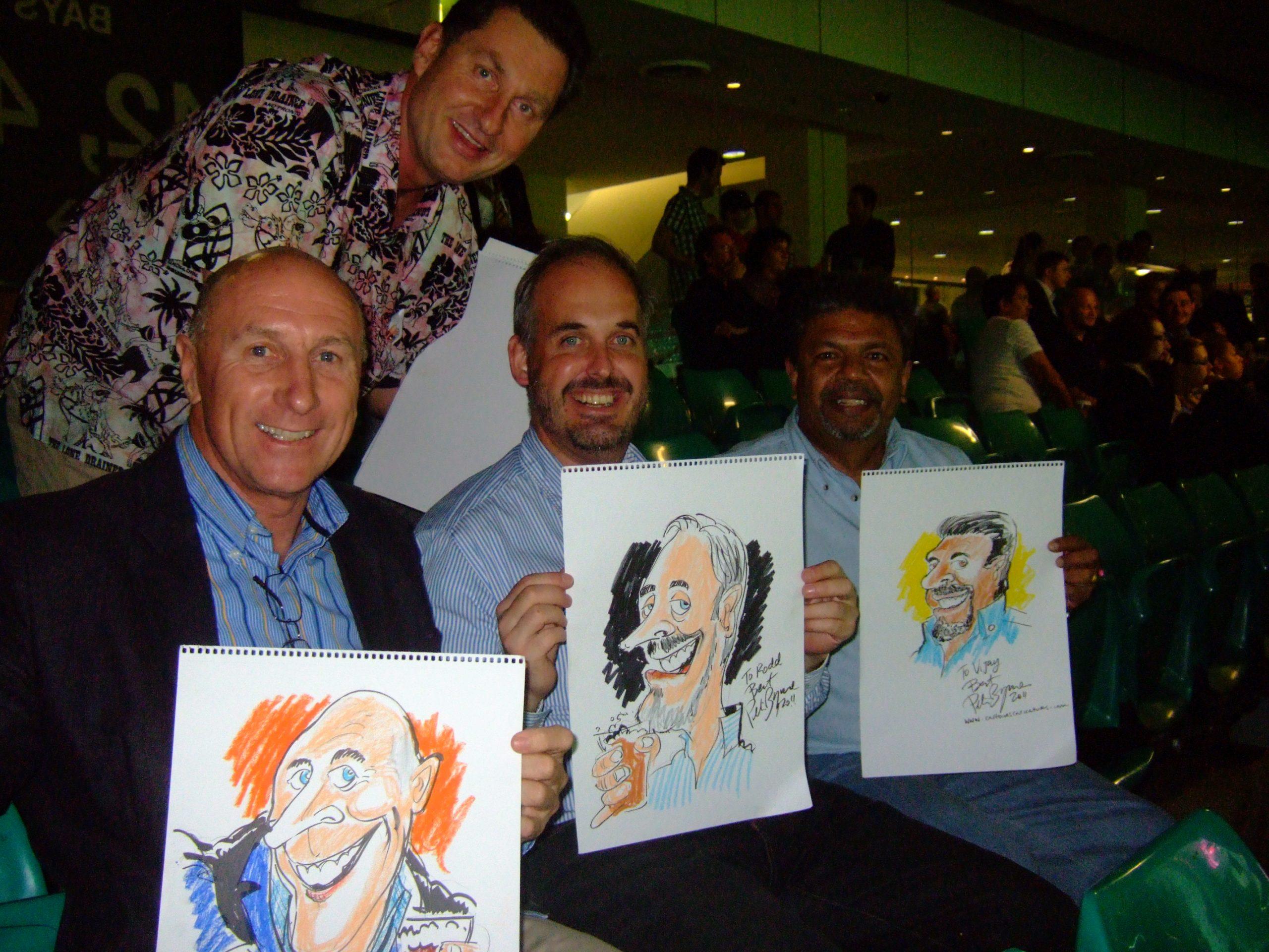 Cartoonist Sydney